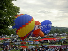 Bristol Bristol hot air balloon festival © Leigh Woods